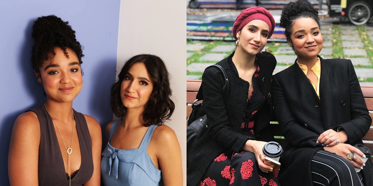 Best Lesbian and Bi Characters On TV, two photos of Kat and Adena from The Bold Type, tv, pop culture