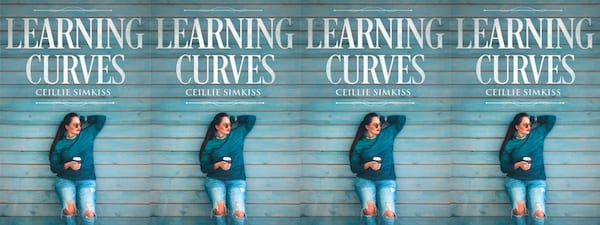 Lesbian Romances For Valentine's Day, the cover of Learning Curves by Ceillie Simkiss, books