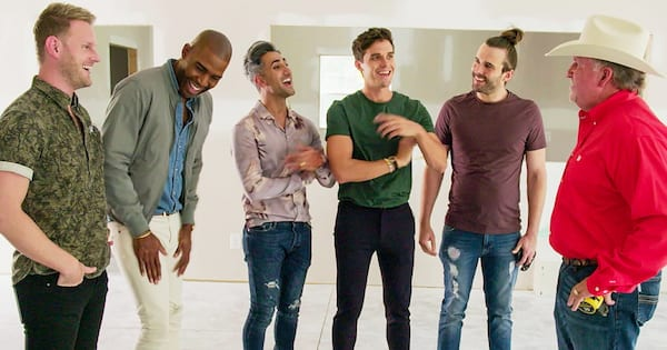 TV Shows You Won't Regret Watching, the cast of Queer Eye talking to one of the people they helped, tv, pop culture