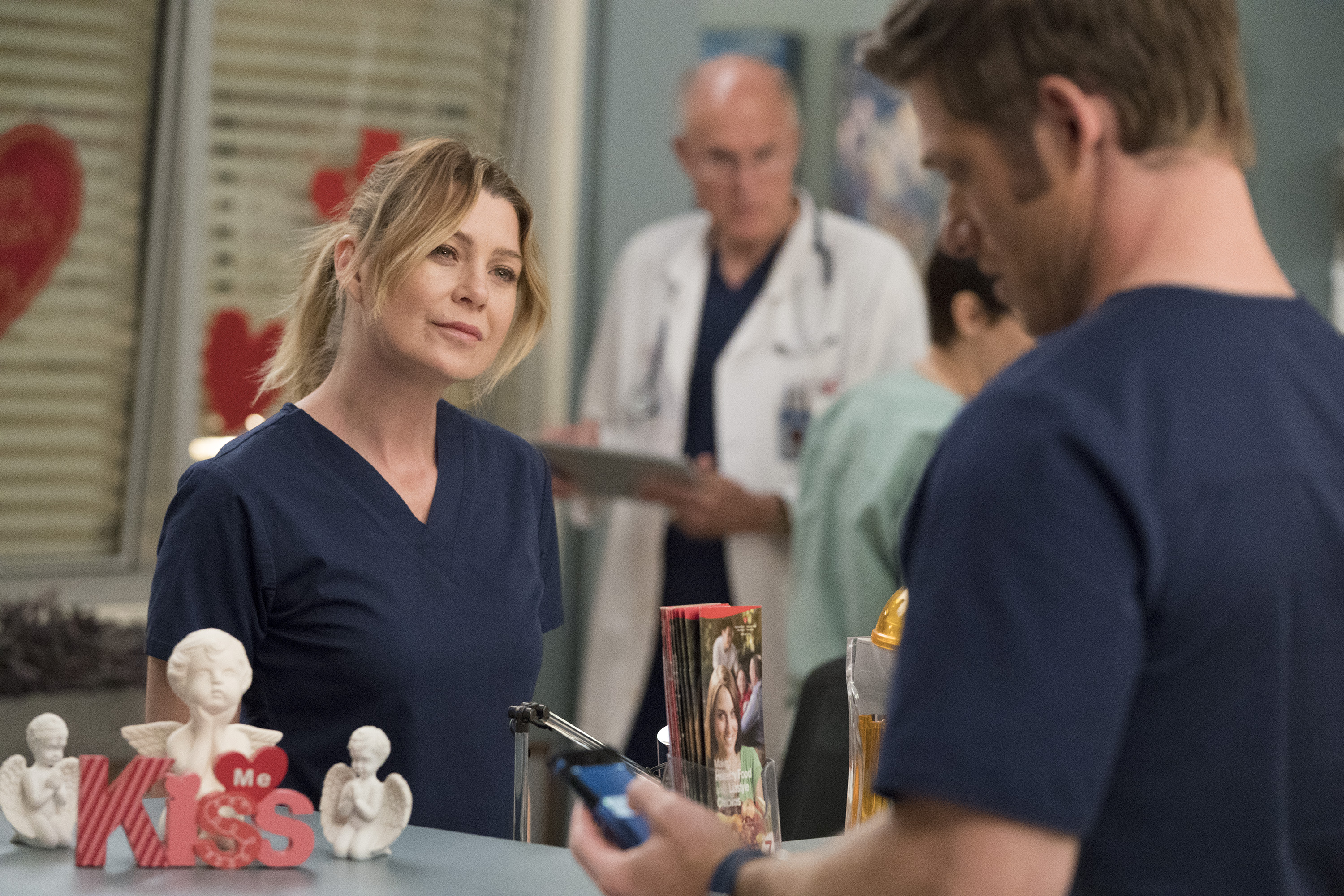 grey's anatomy season 15 episode 12, girl in a coma, jo and alex