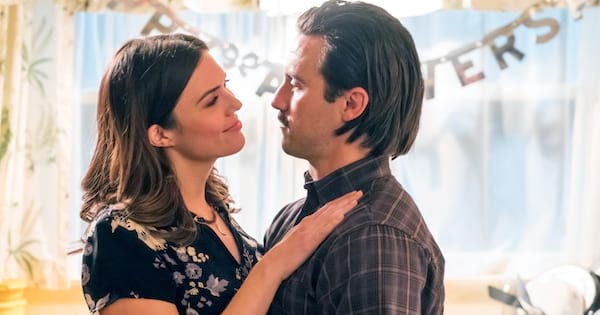 Jack and Rebecca celebrating their anniversary on an episode of This Is Us