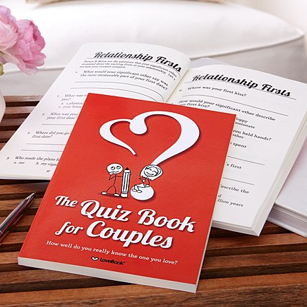 The Quiz Book for Couples from Gifts.com