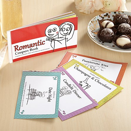 The Romantic Coupon Book from Gifts.com
