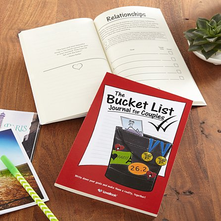 The Bucket List For Couples Book from Gifts.com