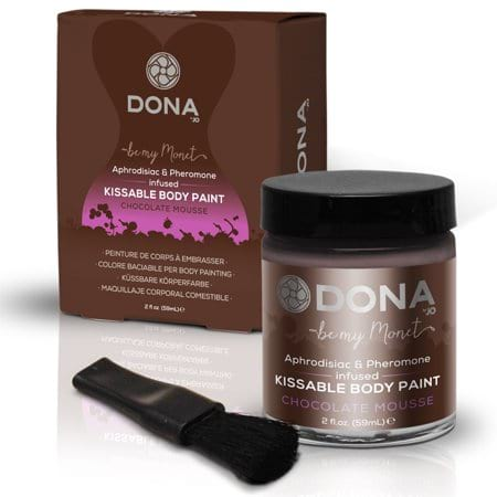Chocolate Mousse Body Paint from Walmart