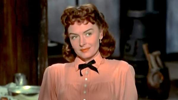 movies, celebs, they rode west, 1954, donna reed, Western
