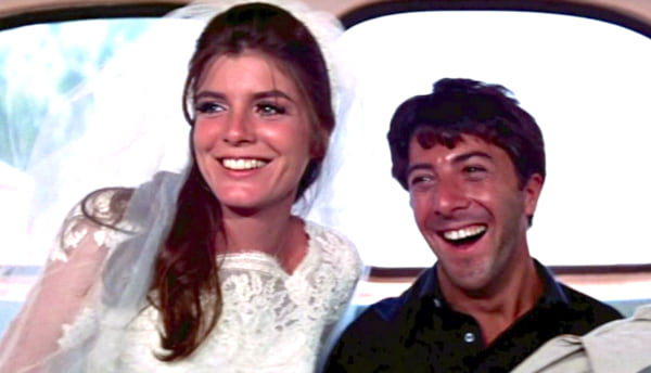 Dustin Hoffman, anne bancroft, 1967, The Graduate, celebs, movies