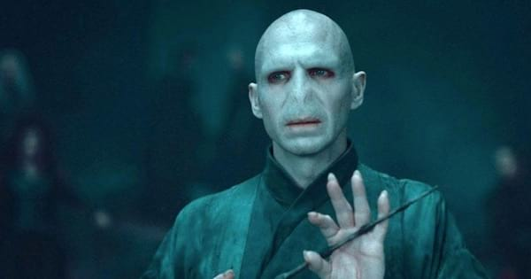 lord voldemort on harry potter