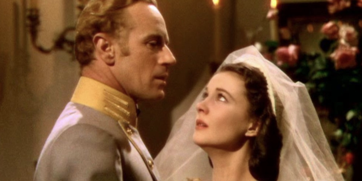 wedding scene, movies, gone with the wind