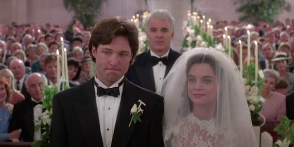 wedding scene, movies, Father of the Bride
