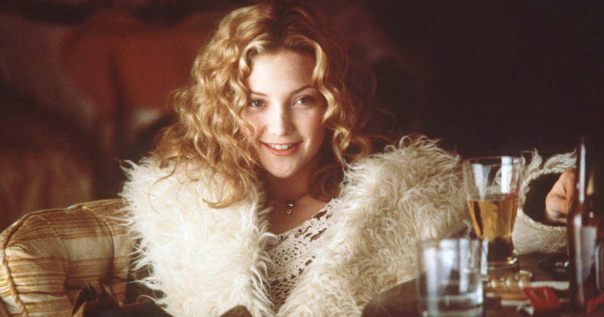 Kate Hudson wearing her iconic coat as Penny Lane in Almost Famous