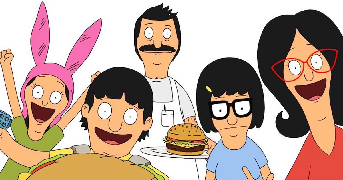 Cartoon Instagram Captions, the Belcher family from Bob's Burgers, pop culture, movies, tv