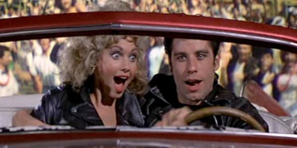 movie end scene, movies, grease