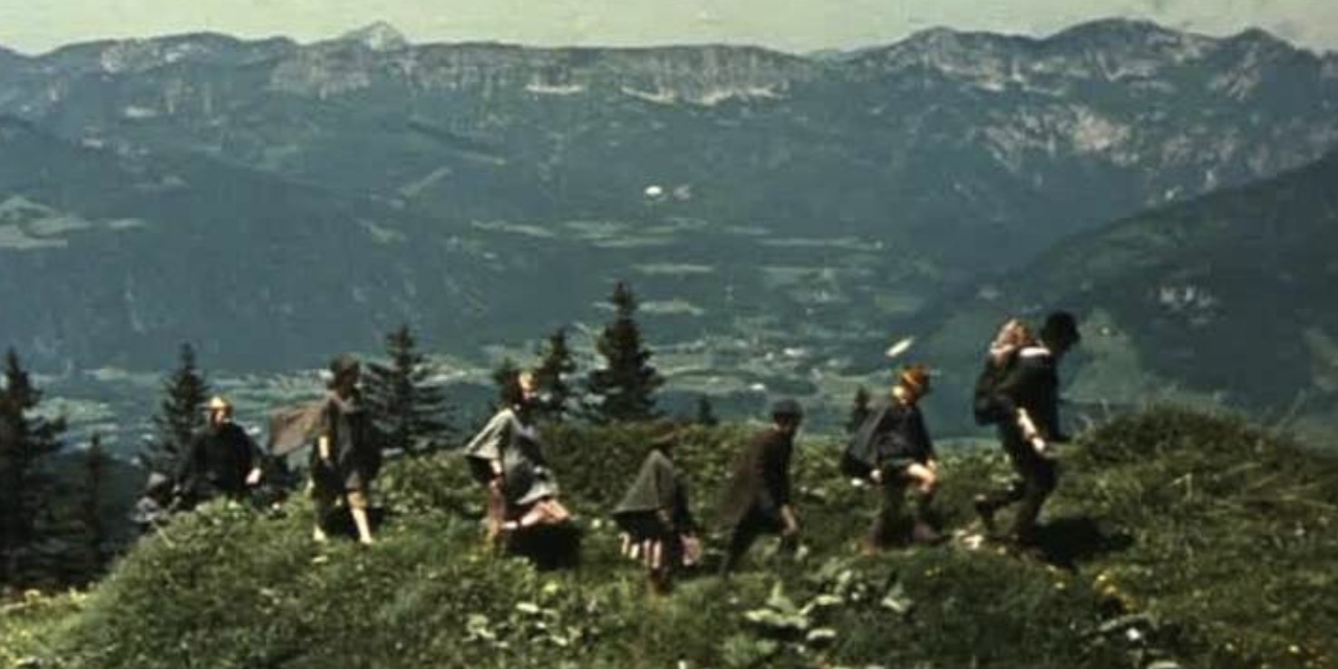 movie end scene, movies, The Sound of Music