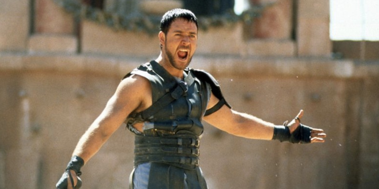 Russell Crowe, movies, Gladiator