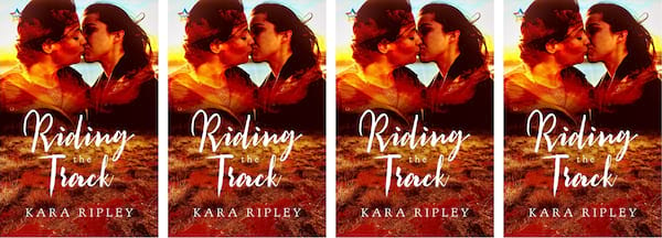 books, the cover of the book Riding the Track by Kara Ripley, Western Romance Novels