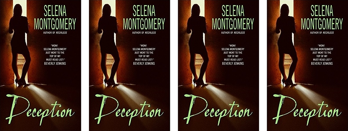 Stacey Abrams Books, the book cover Deception by Selena Montgomery, books, politics