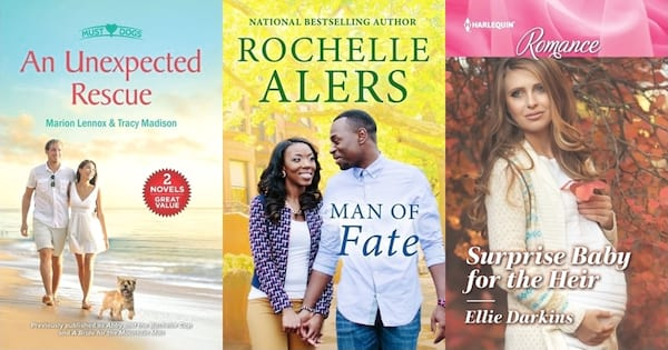 books, three book covers of new Harlequin Romance Novels, Harlequin Romance Novels