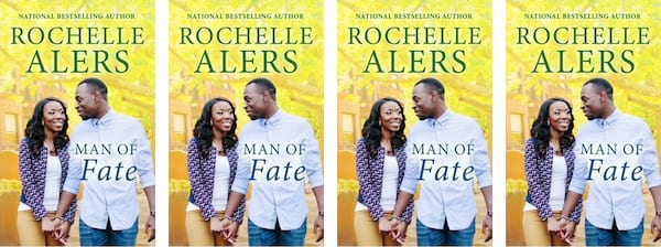 Harlequin Romance Novels, Man of Fate book cover by Rochelle Alers, books