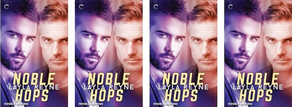 books, Noble Hops book cover by Layla Reyne, Harlequin Romance Books