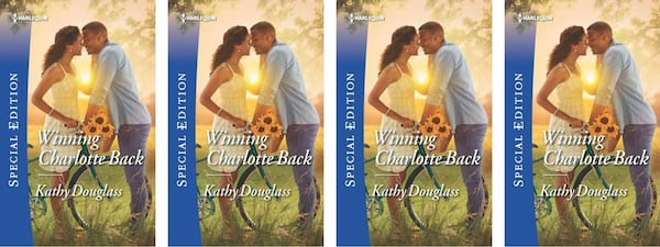 Small Town Romance Novels, cover of the book Winning Charlotte Back by Kathy Douglass, books