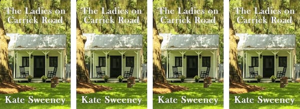 Small Town Romance Novels, The Ladies on Carrick Road book cover by Kate Sweeney, books