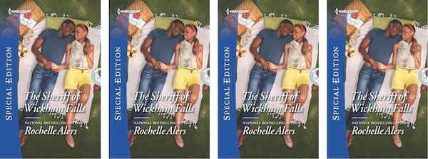 Small Town Romance Novels, book cover of The Sheriff of Wickam Falls by Rochelle Alers, books