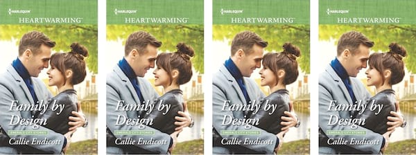 Small Town Romance Novels, book cover of Family by Design by Callie Endicott, books