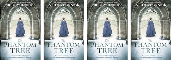 books, cover of the book The Phantom Tree by Nicola Cornick, Time Travel Romance Novels