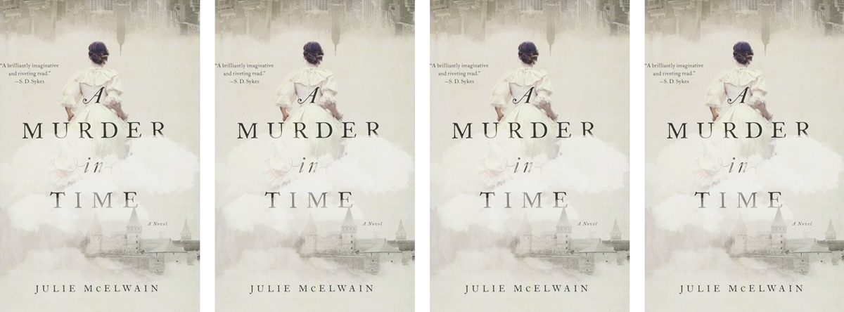 Time Travel Romance Novels, cover of A Murder in Time by Julie McElwain, books