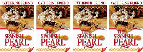 books, cover of The Spanish Pearl by Catherine Friend, Time Travel Romance Novels