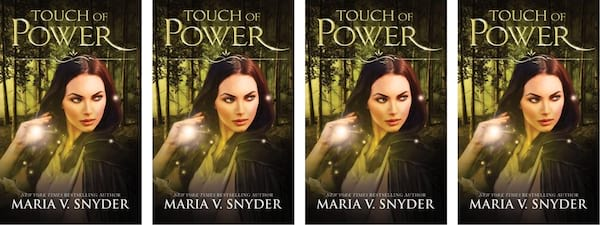 Fantasy Romance Novels, cover of Touch of Power by Maria V. Snyder, books