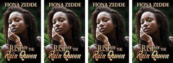 Fantasy Romance Novels, cover of Rise of the Rain Queen by Fiona Zedde, books