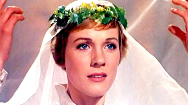 movies, The Sound of Music, 1965, Julie Andrews, musical, wedding scene, AMC