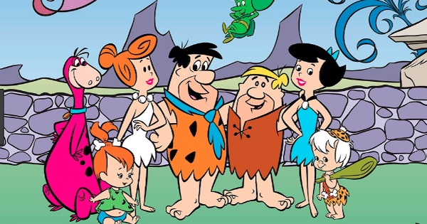 the flintstones animated television series from 1960s