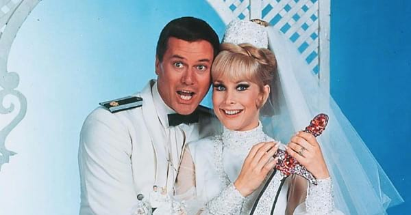 jeannie and astronaut television series I dream of jeannie 1960s