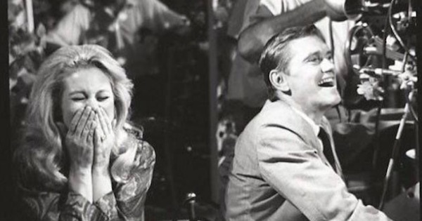bewitched man and woman black and white television series 1960s