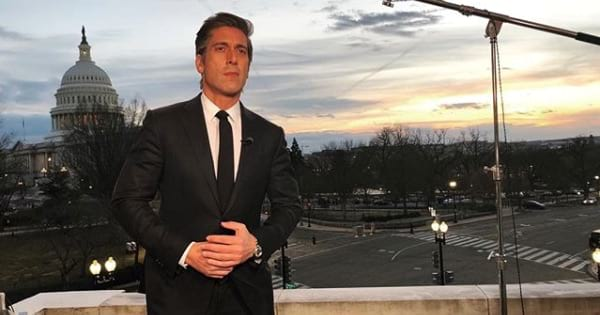 david muir standing in front of capital washington d.c. abc nightly news anchor