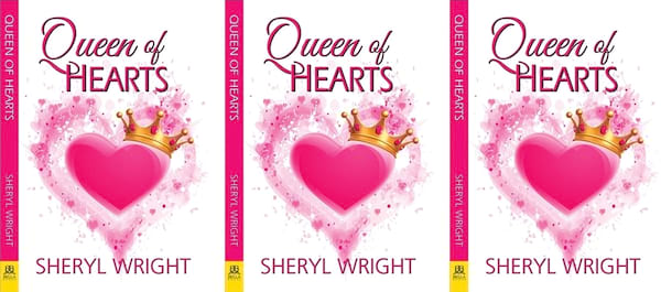 Reality Show Romance Novels, cover of Queen of Hearts by Sheryl Wright, books, tv
