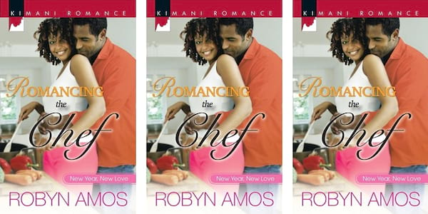 Reality Show TV Romance, cover of Romancing the Chef by Robyn Amos, books, tv