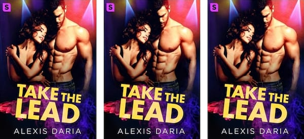 Reality Show Romance Novels, cover of Take the Lead by Alexis Daria, books, tv