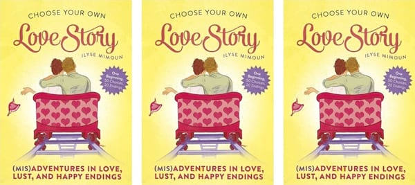 Choose Your Own Romance Novels, covers of Love Story: Choose Your Own Romance by Ilyse Mimoun, books