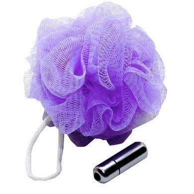 Vibrating Shower Loofah from Amazon