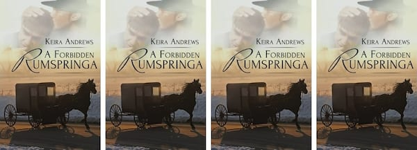 Amish Romance Novels, cover of A Forbidden Rumspringa by Keira Andrews, books