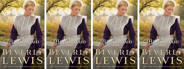 Amish Romance Novels, cover of The Bridesmaid by Beverly Lewis, books