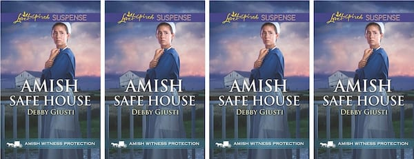 Amish Romance Novels, cover of Amish Safe House by Debby Giusti, books
