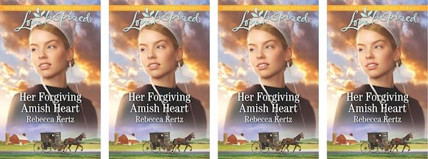Amish Romance Novels, cover of Her Forgiving Amish Heart by Rebecca Kertz, books