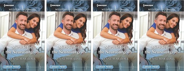 books, cover of Miracle for the Neurosurgeon by Lynne Marshall, Disabled Romance Novels