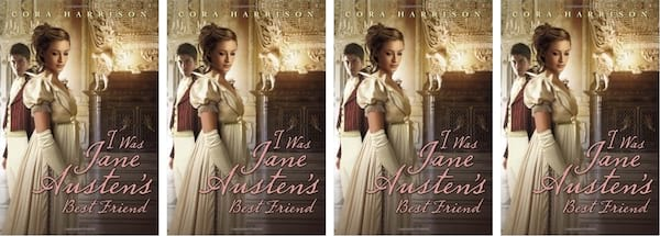 books, cover of I Was Jane Austen's Best Friend by Cora Harrison, Modern Novels Jane Austen Would Love