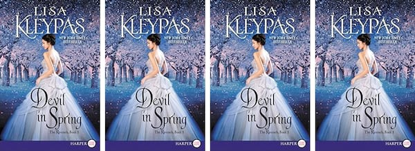 books, cover of Devil in Spring by Lisa Kleypas, Modern Novels Jane Austen Would Love